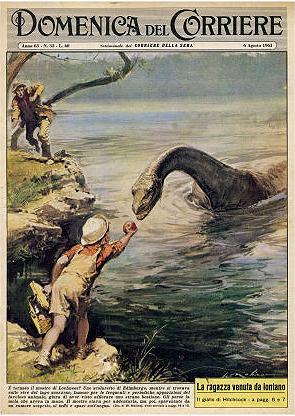 giant snake in river