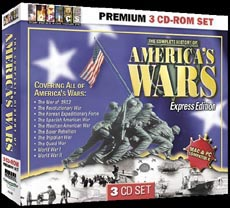 America's Wars 3 CD-Rom Set