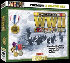 Complete WW II 3 CD-ROM Set