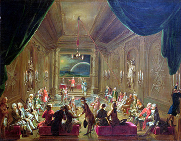 Initiation Ceremony In A Viennese Masonic
