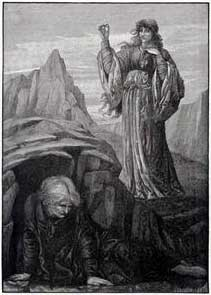 J And J Transport Stonehenge Merlin Held Spellbound by Vivien, by J.d. Cooper. . . Buy this art ...
