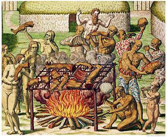 yahweh a plagié le cannibalisme des religions paiennes Scene-cannibalism-1592