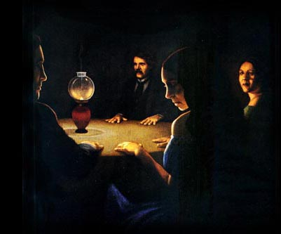 the seance The manchester hill séance a once in a lifetime experience, jaymes invites a small group of up to 16 guests to a chilling recreation of an authentic victorian seance.