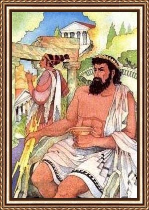 Pics Of Zeus Greek God. Zeus, the most powerful of the